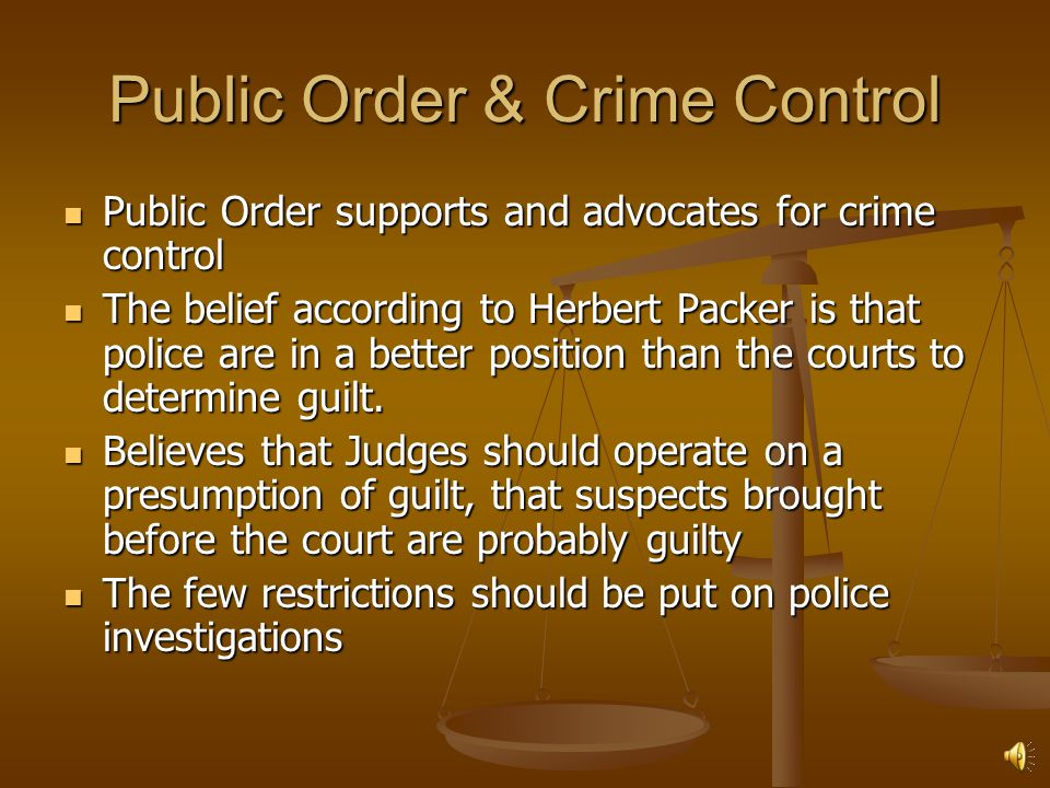 individual rights vs public order