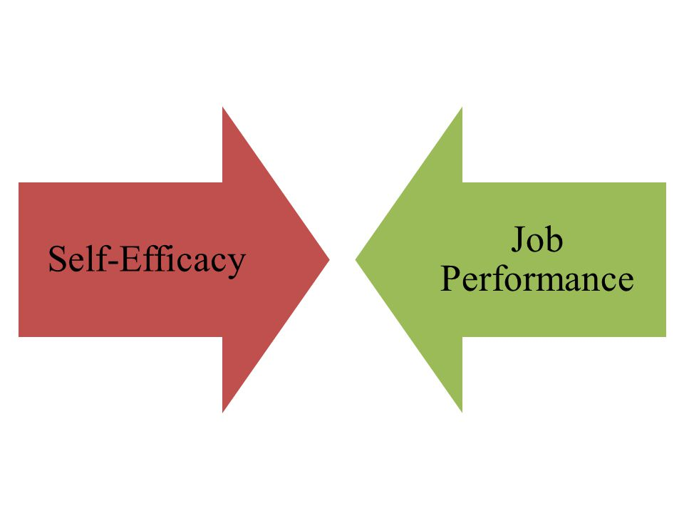 Self-Efficacy Job Performance