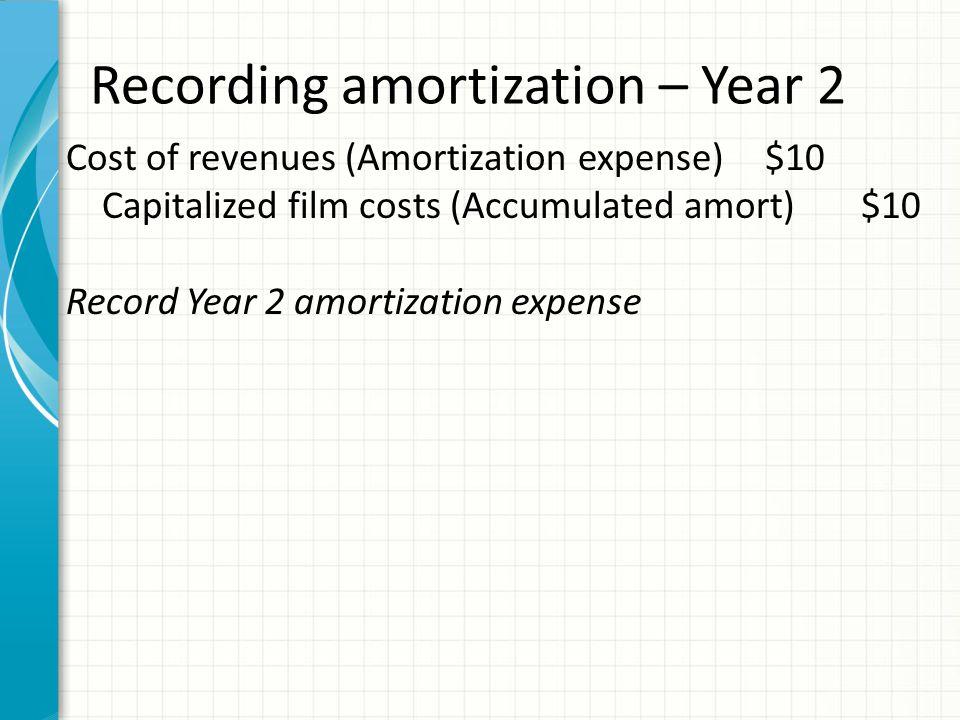 agenda revenue recognition ultimate revenues cost amortization ppt