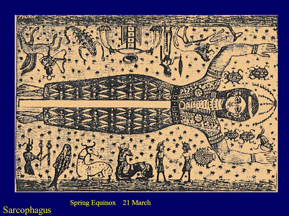 Sarcophagus Spring Equinox 21 March