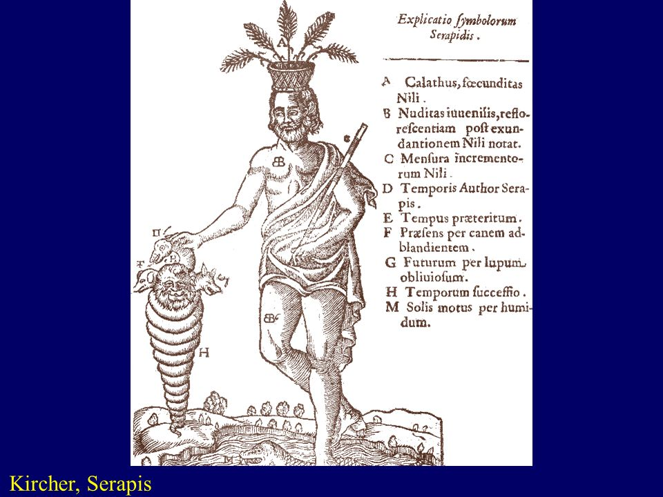 Kircher, Serapis