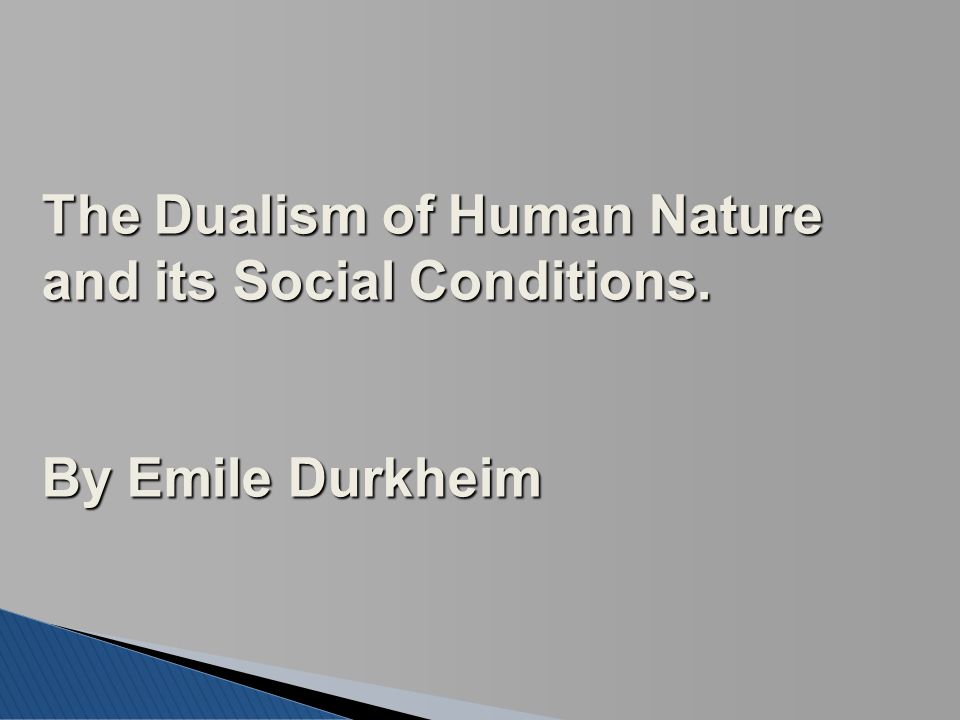 the duality of human nature essay The duality of human nature in stevenson's dr jekyll and mr hyde  essay robert louis stevenson's dr jekyll and mr hyde  fear, and horror throughout the book there is a big concern about homosexuality, murder, and duality of human nature all told form a patriarchal point of view however the centralized focus is based on good and evil.