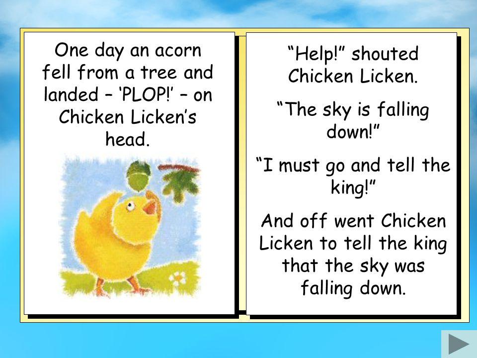 chicken licken story
