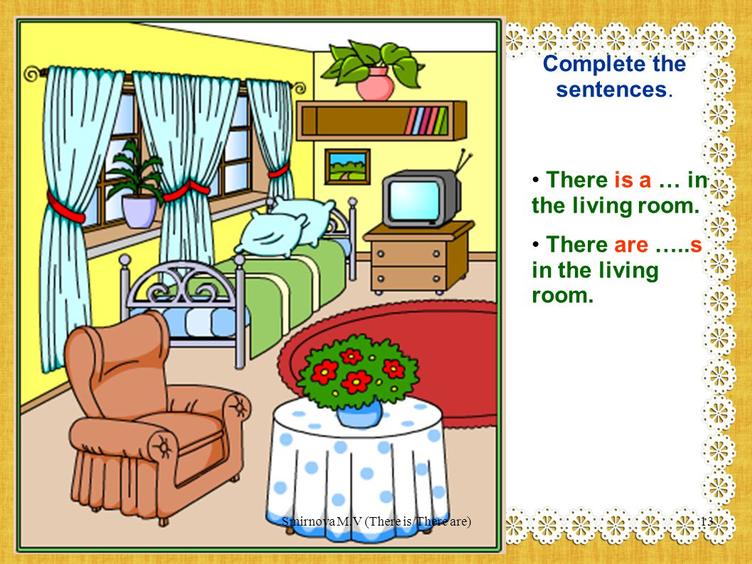 Complete the sentences.