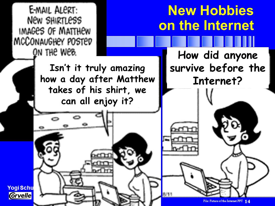 New Hobbies on the Internet