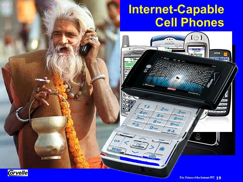Internet-Capable Cell Phones