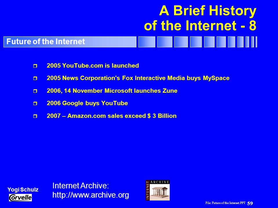 A Brief History of the Internet - 8
