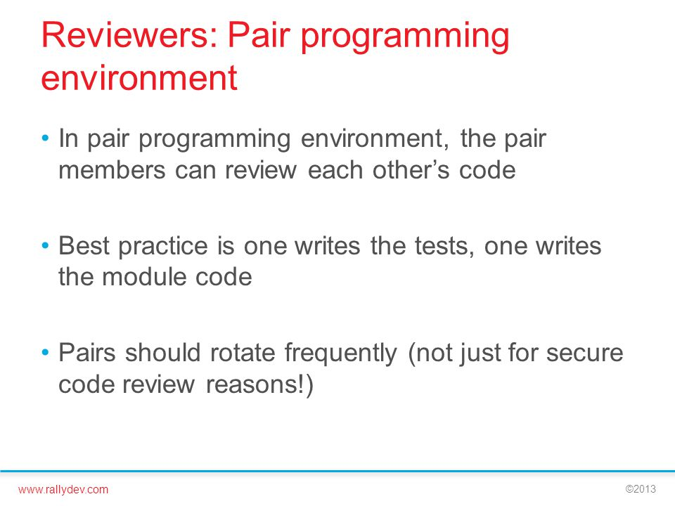 Reviewers: Pair programming environment