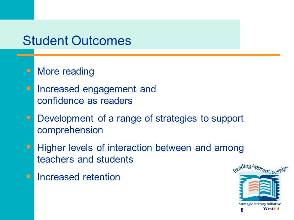 Student Outcomes More reading