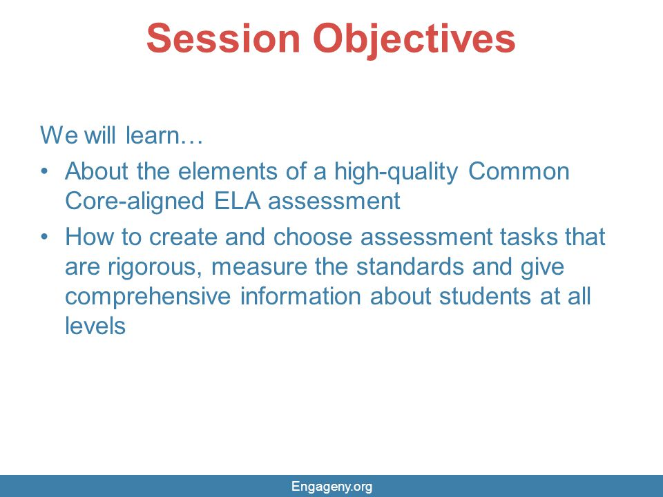 Session Objectives We will learn…