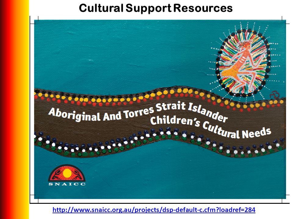 Cultural Support Resources