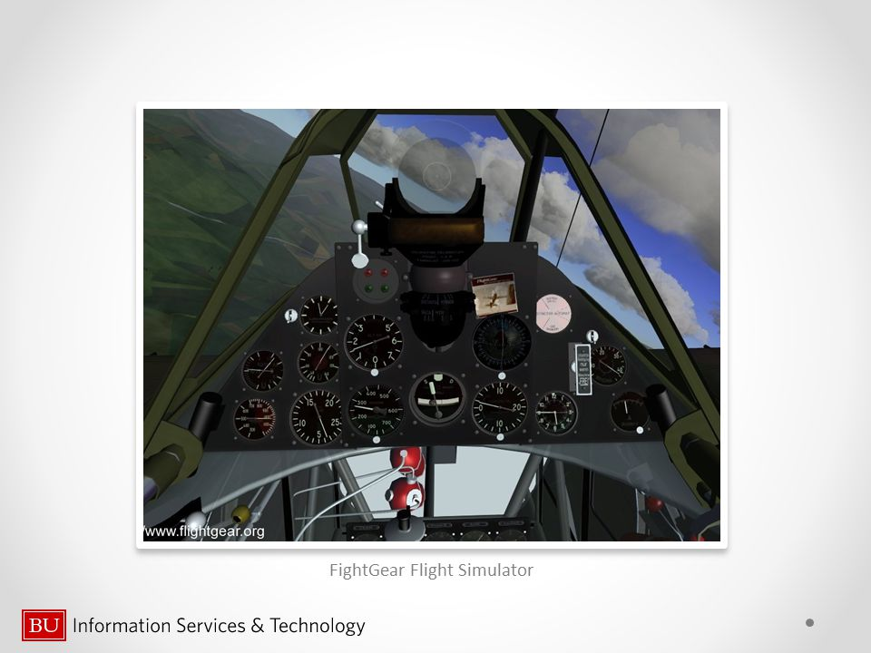 FightGear Flight Simulator