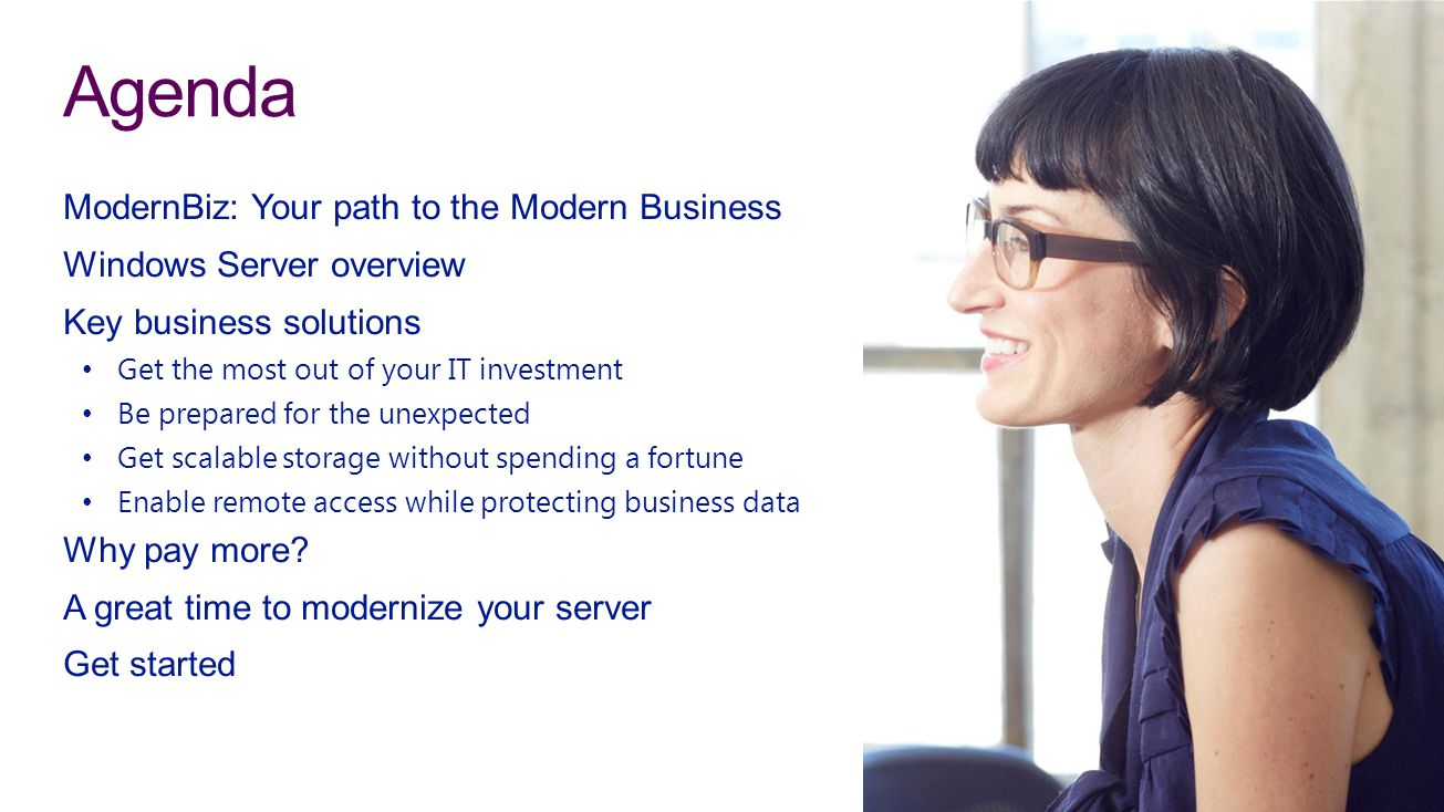 Agenda ModernBiz: Your path to the Modern Business