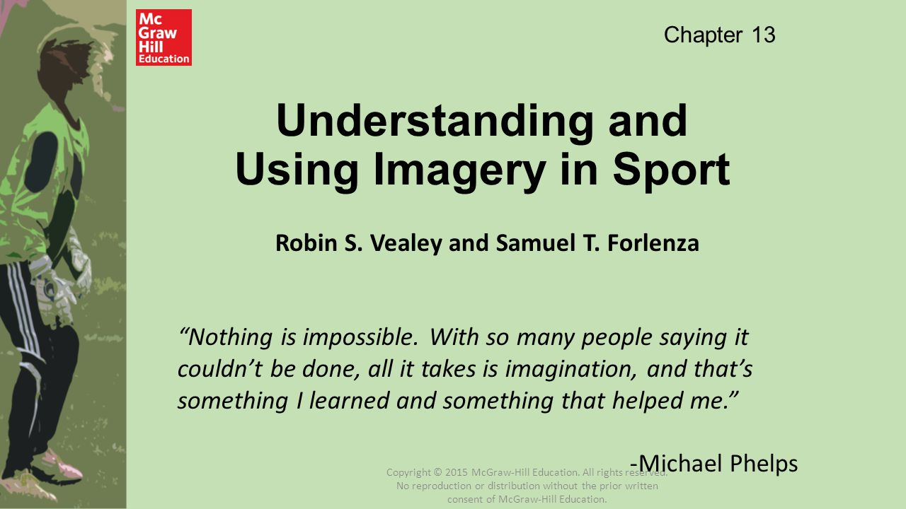 Understanding and Using Imagery in Sport