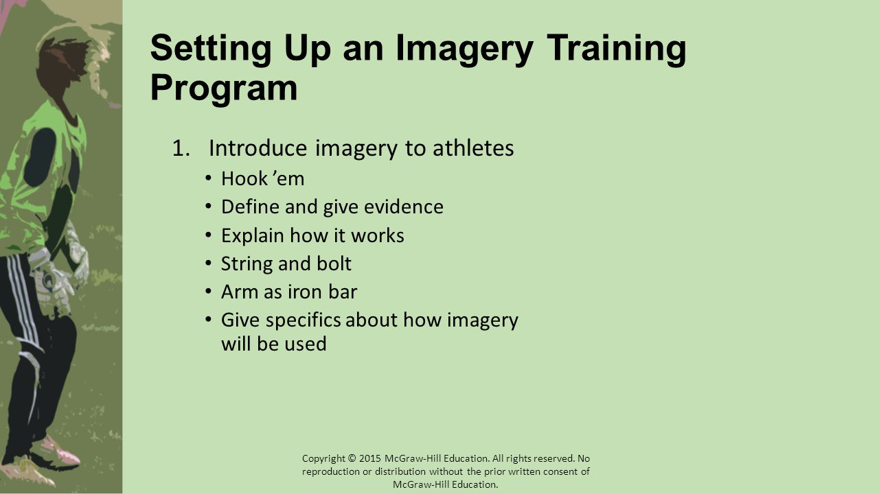 Setting Up an Imagery Training Program
