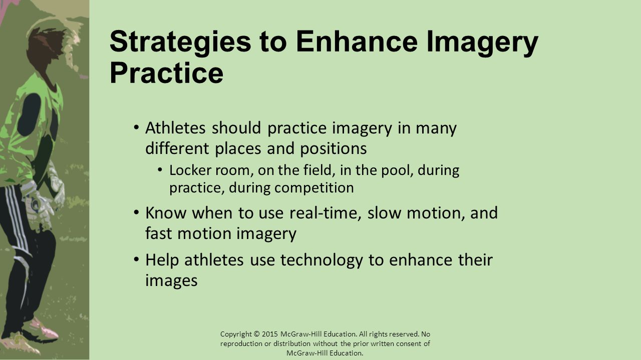 Strategies to Enhance Imagery Practice