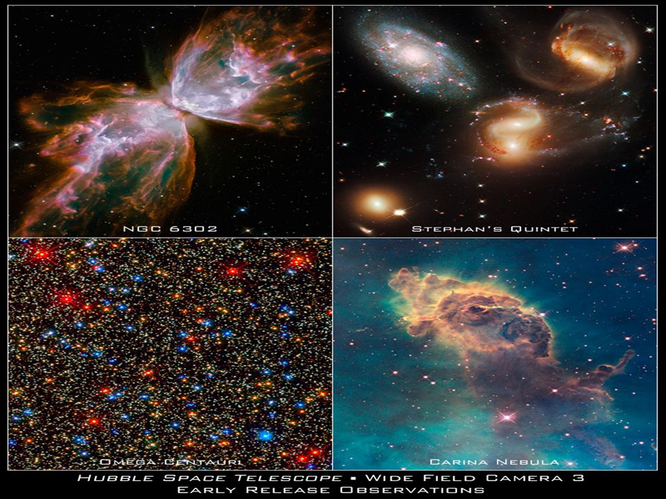 Insert new hubble photos to start the inquiry