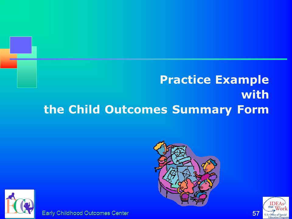 the Child Outcomes Summary Form