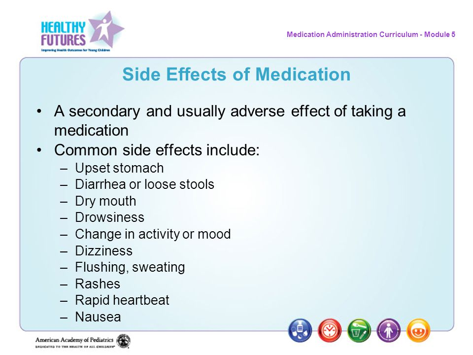 Side Effects of Medication