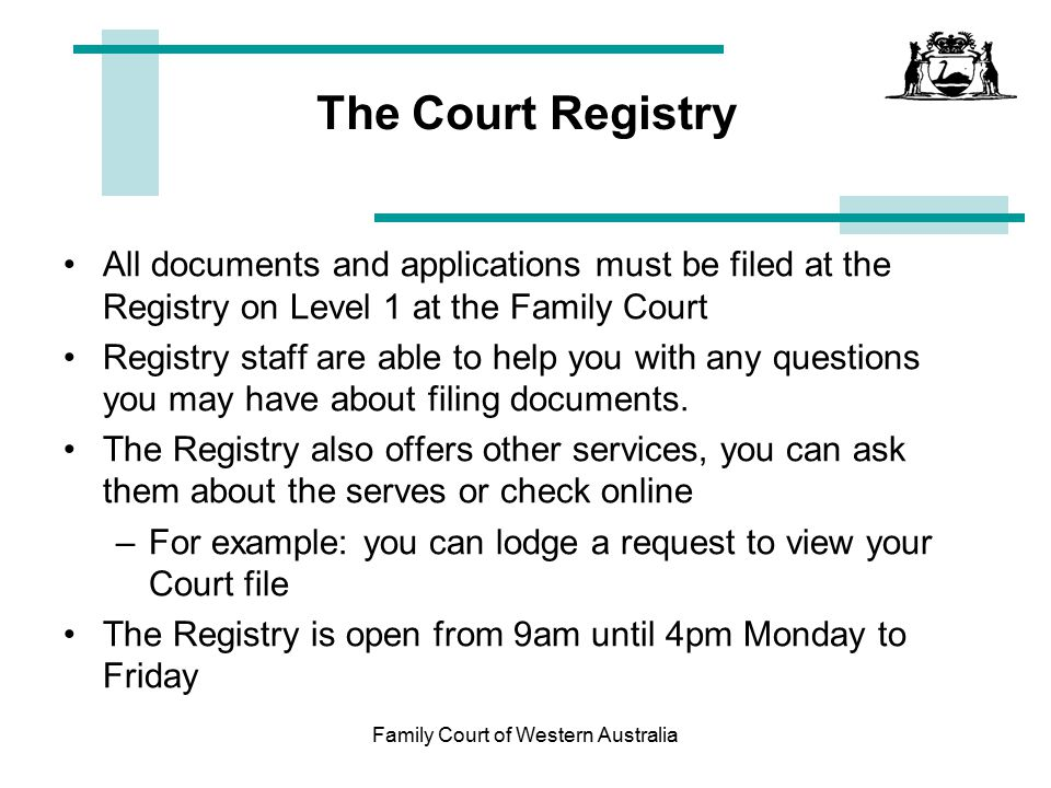 How to check for court date online in Perth