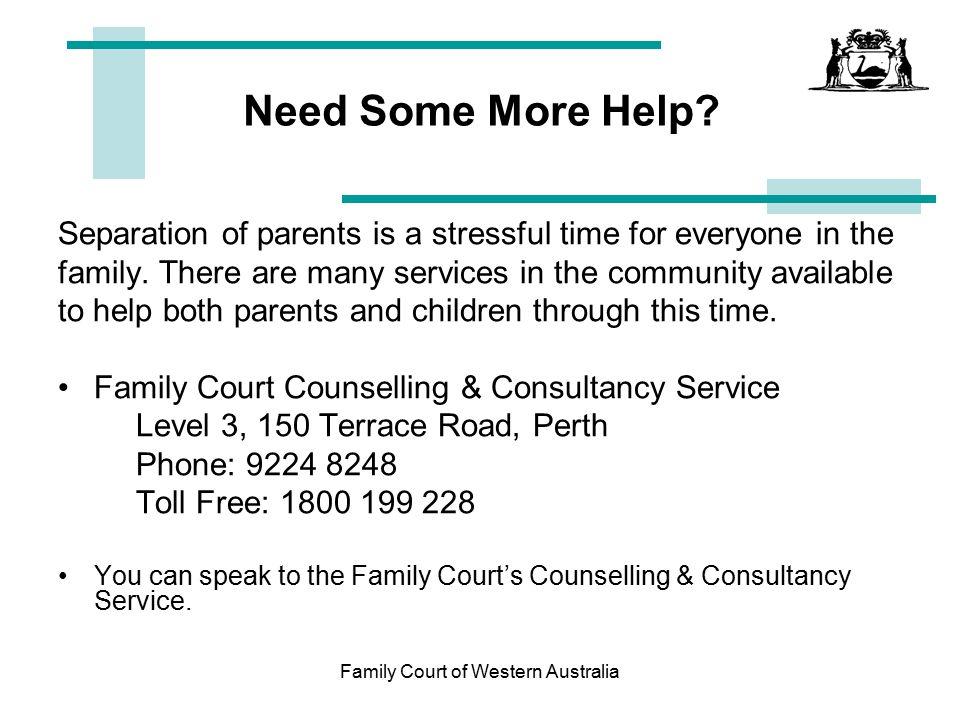 Find court date in Perth