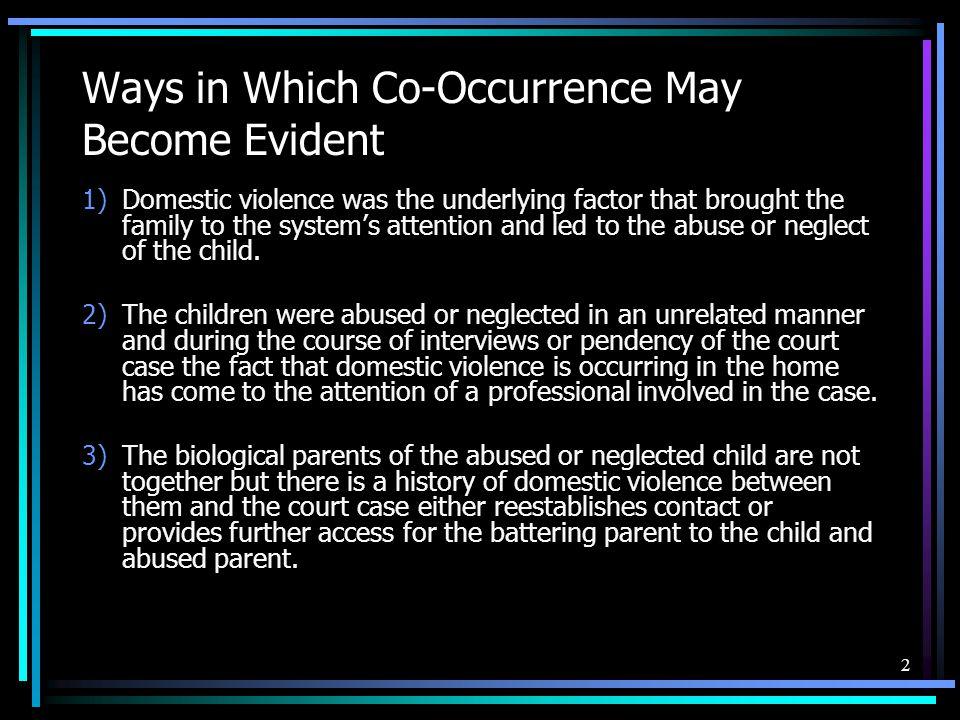 Child Deprivation Domestic Violence and Visitation - ppt video