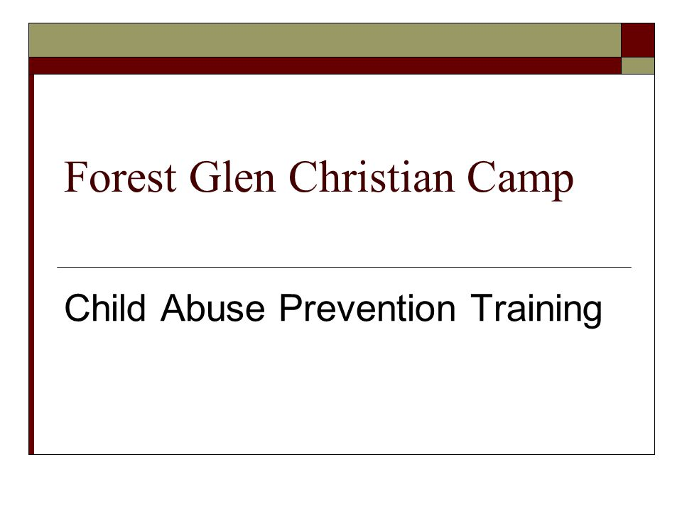 Forest Glen Christian Camp