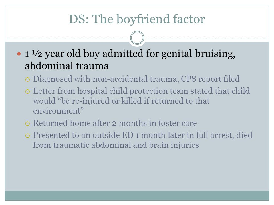 DS: The boyfriend factor