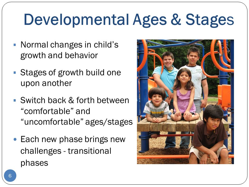 Developmental Ages & Stages