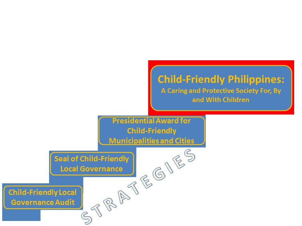 S T R A T E G I E S Child-Friendly Philippines: