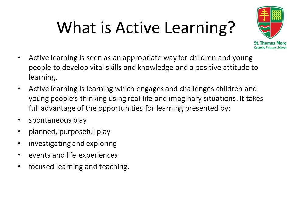 What is Active Learning