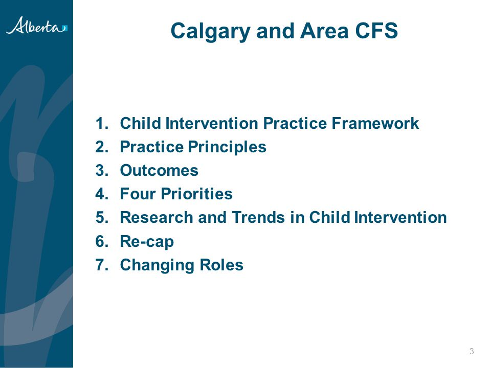 Calgary and Area CFS Child Intervention Practice Framework
