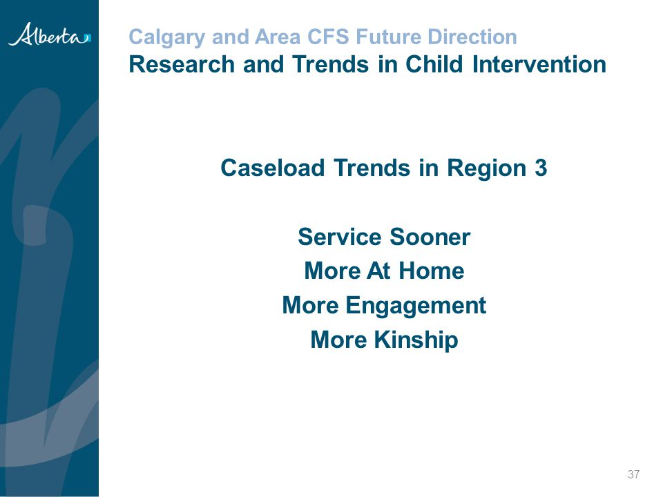 Caseload Trends in Region 3