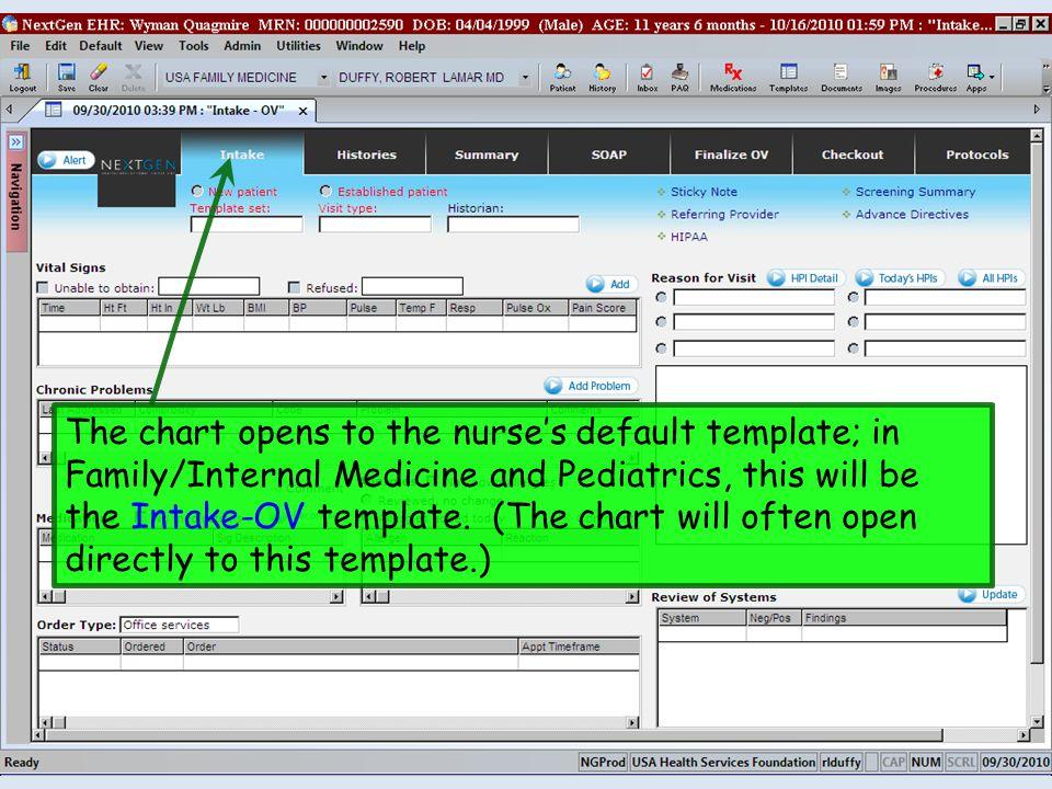 Nextgen Workflow Demonstration Well Child Visit Family Medicine