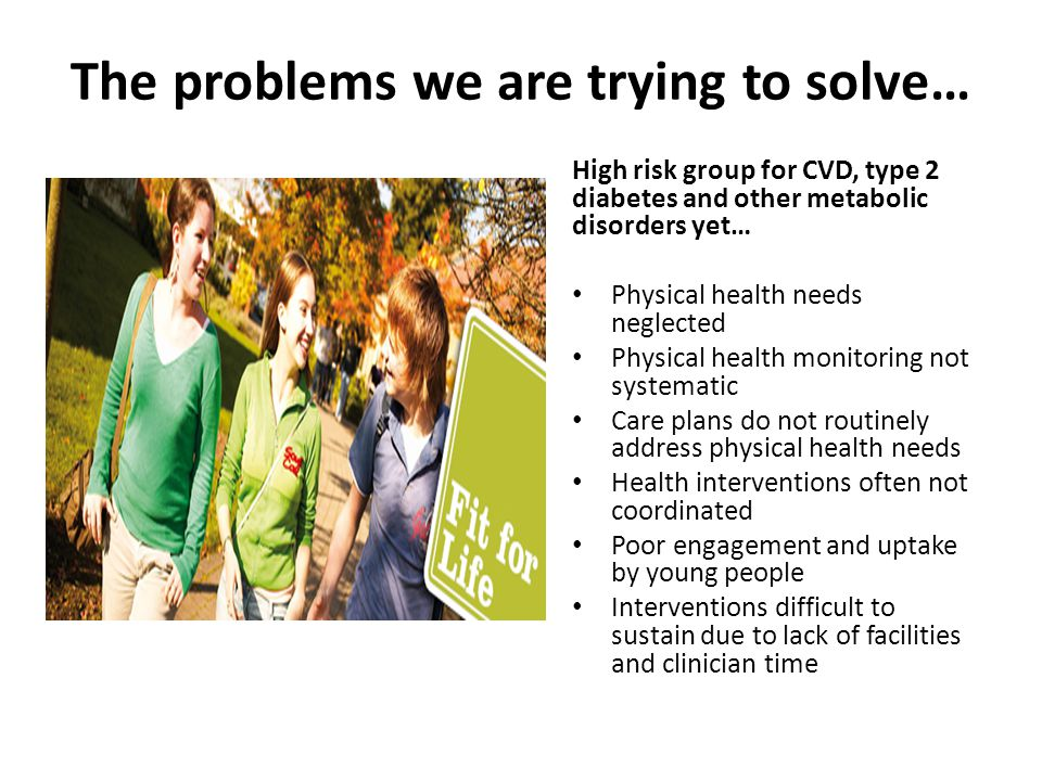 The problems we are trying to solve…