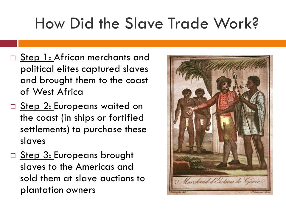 How Did the Slave Trade Work