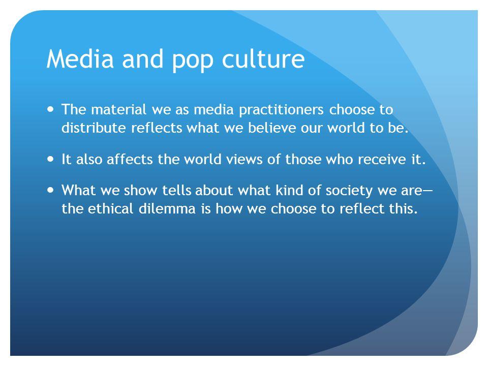 how media reflects society