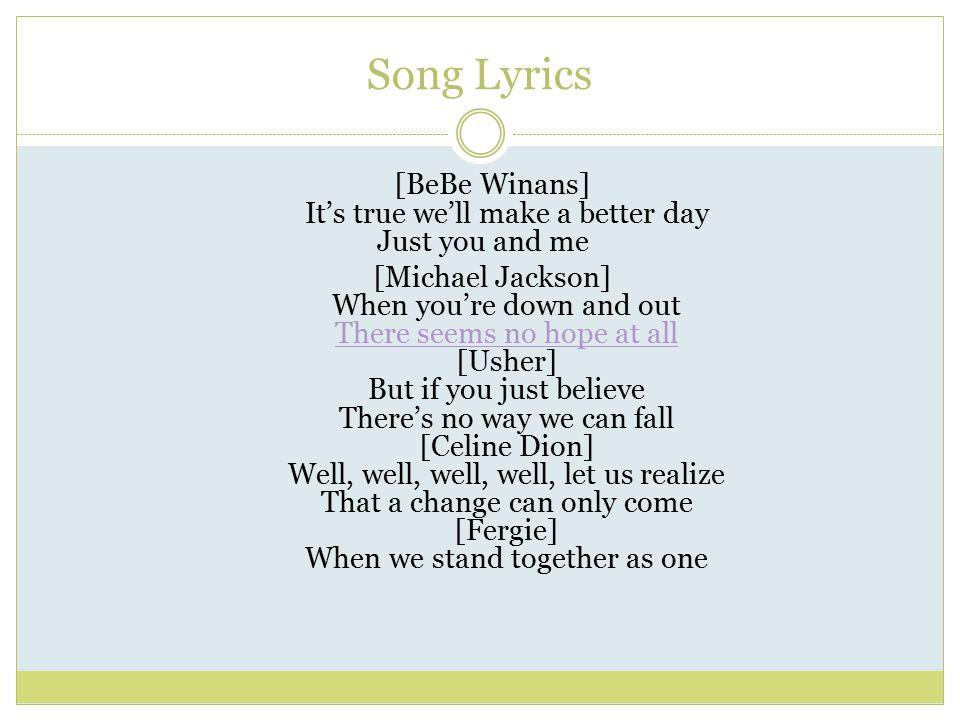 We Are The World Michael Jackson Lyrics Terjemahan - Www