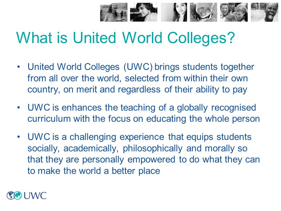 What is United World Colleges