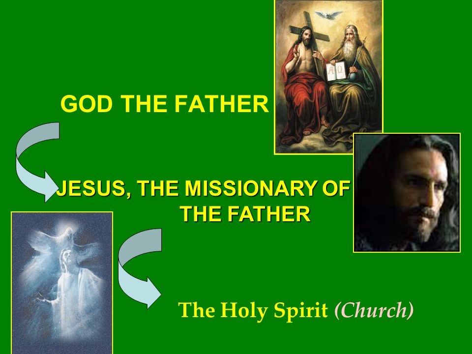 GOD THE FATHER JESUS, THE MISSIONARY OF THE FATHER