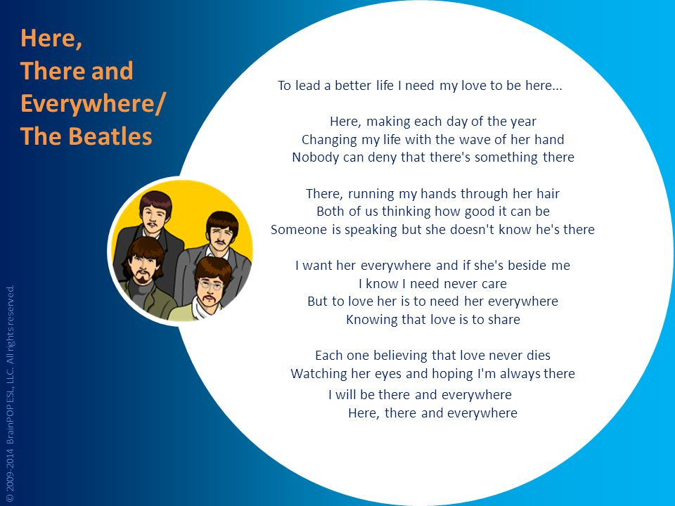 Here, There and Everywhere/ The Beatles