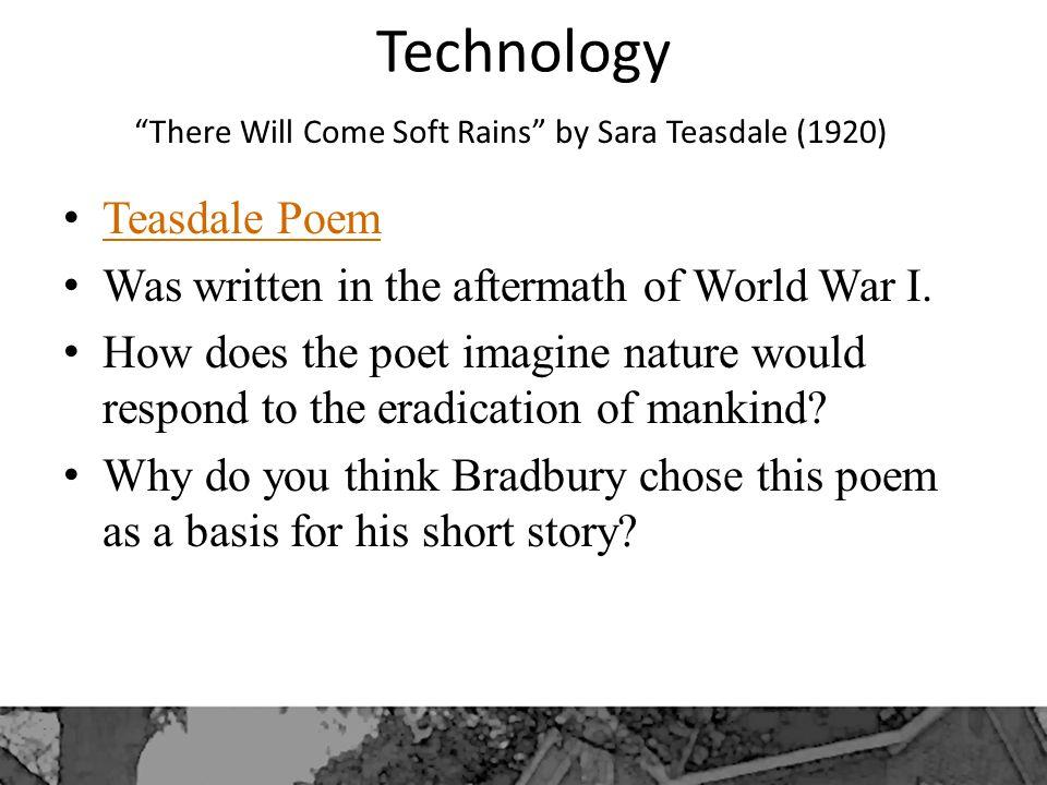 there will come soft rains ray bradbury analysis