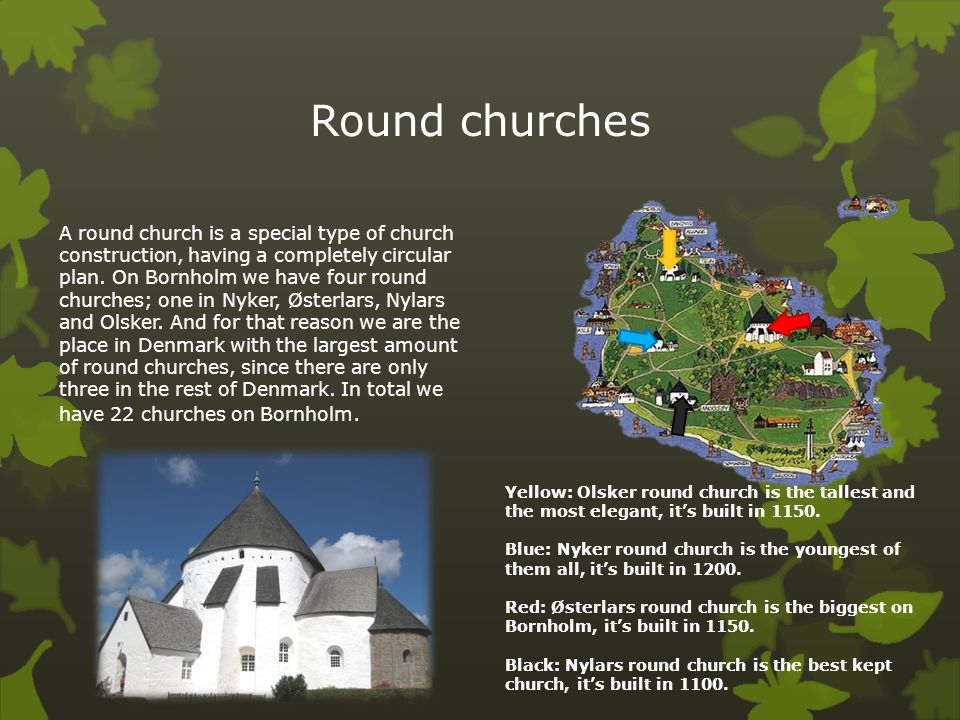 Round churches