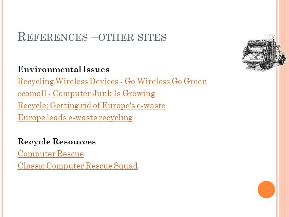 References –other sites