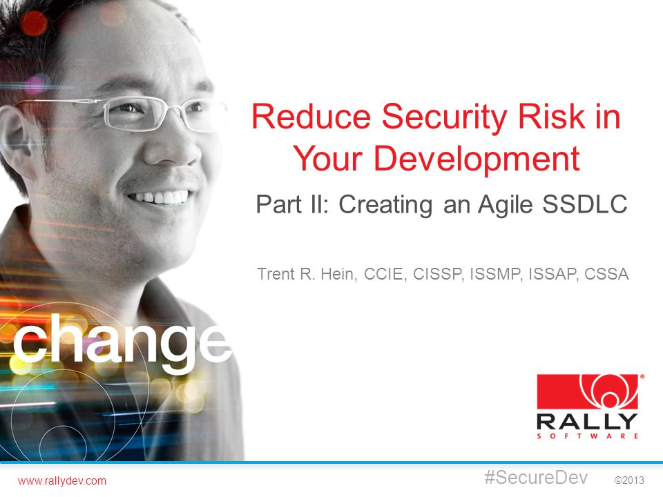 Reduce Security Risk in Your Development