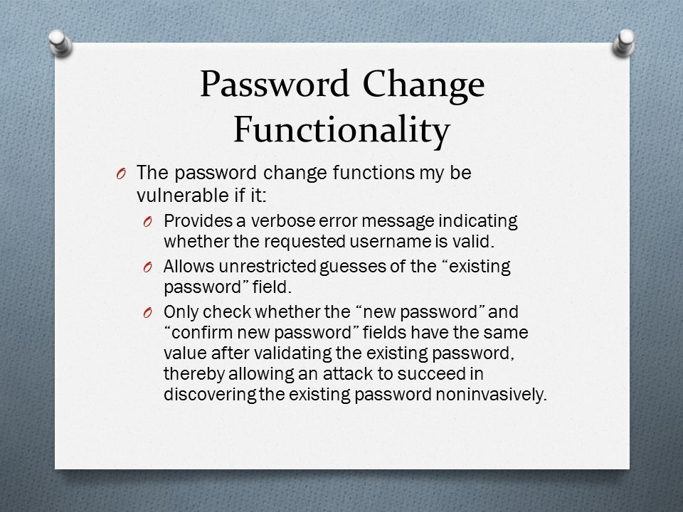 Chapter 6 Attacking Authentication - ppt download