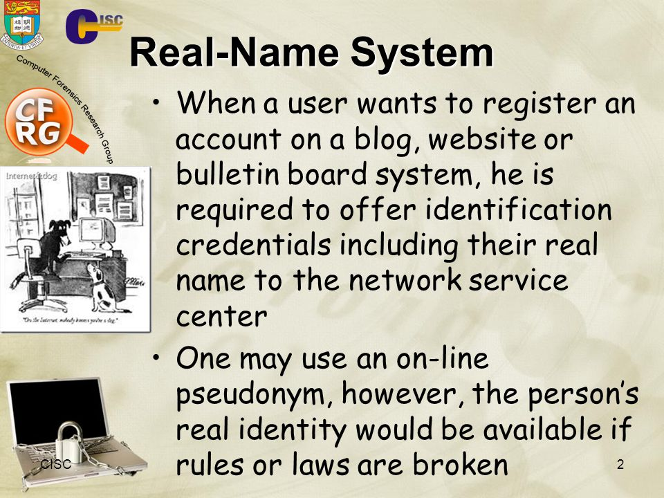 Real-Name System