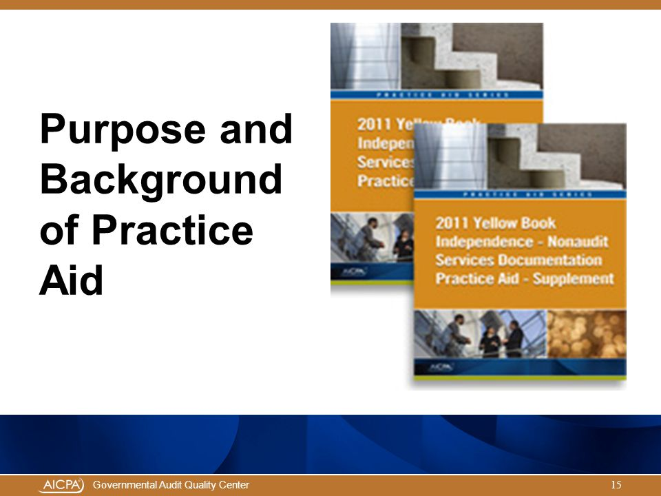 Purpose and Background of Practice Aid