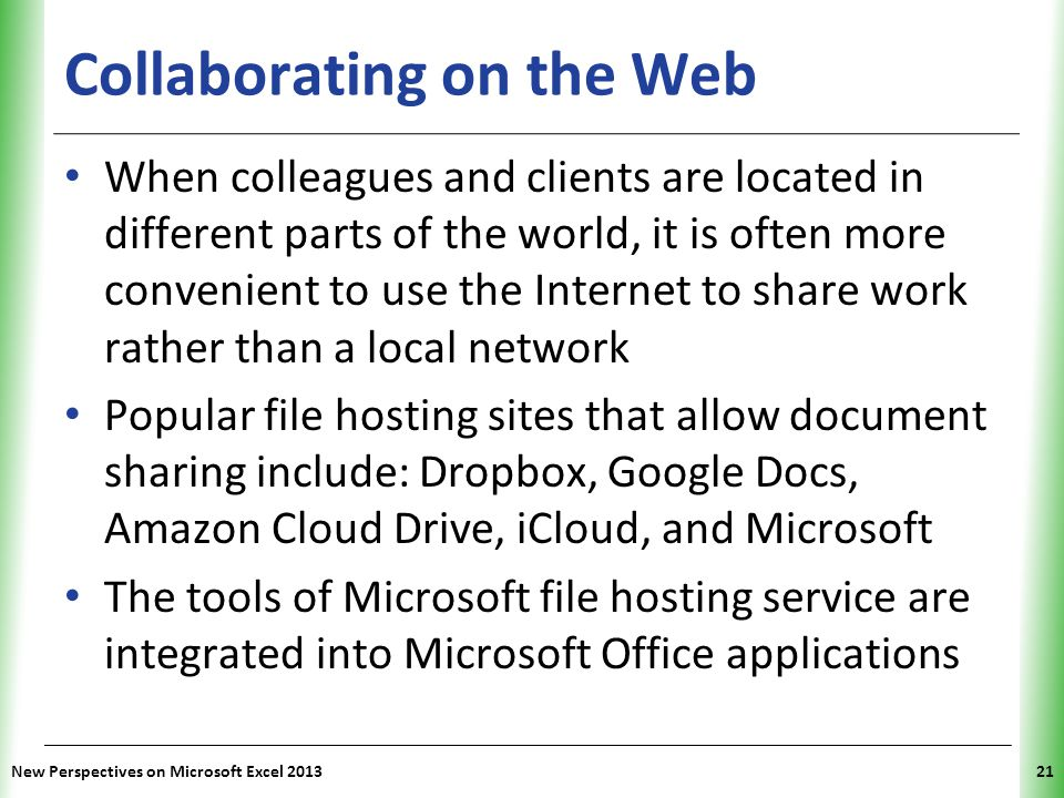 Collaborating on the Web