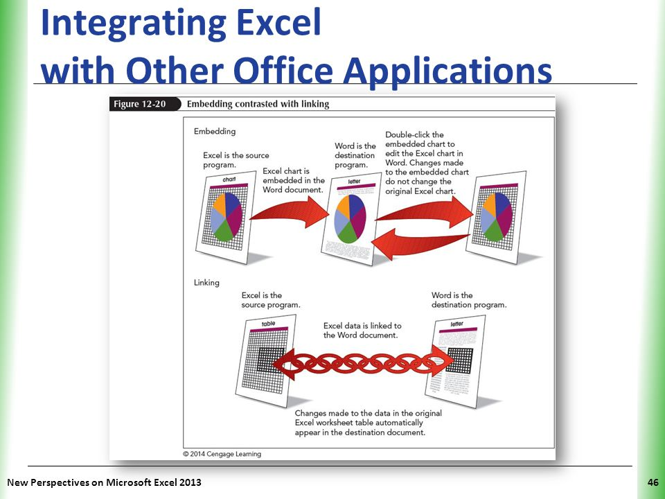 Integrating Excel with Other Office Applications
